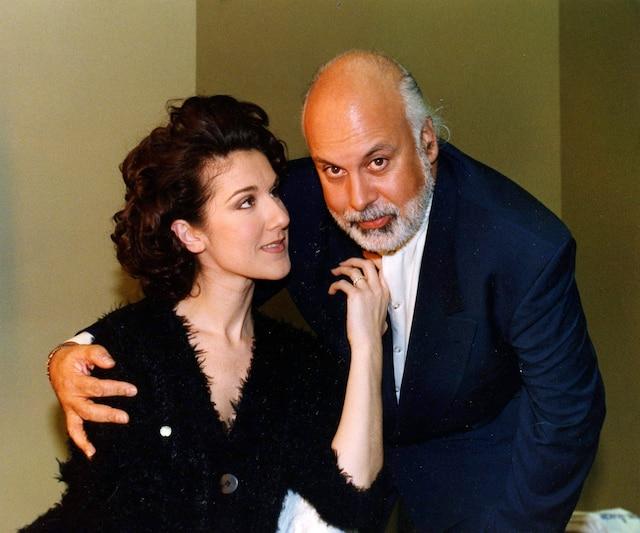 Céline Dion et René Angelil. 1994. photo Normand Pichette / Le Journal de Montréal.