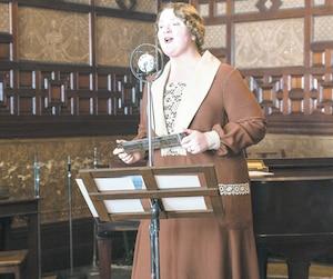 Debbie Lynch-White interprète La Bolduc dans le film éponyme qui prend l'affiche le 6 avril.