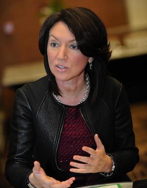 Nathalie Normandeau a été vice-première ministre sous le gouvernement Charest.