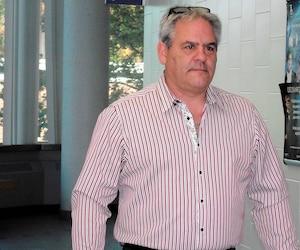 L'ex-maire de L'Assomption Jean-Claude Gingras au palais de justice de Joliette au mois de septembre dernier.