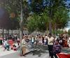 Les premières images de ce qui sera la future esplanade Clark, quatrième phase du Quartier des spectacles, ont été dévoilées par la Ville de Montréal dimanche.