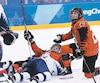Danièle Sauvageau a dirigé l'équipe canadienne aux JO de 2002 à Salt Lake City. Les porte-couleurs de l'unifolié avaient alors remporté une finale d'anthologie face aux Américaines. Les deux équipes se sont de nouveau affrontées mercredi à Pyeongchang.