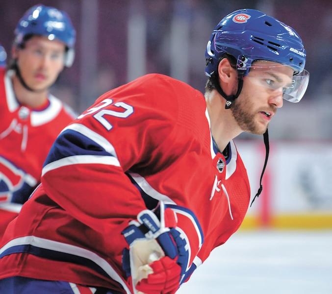 Le Canadien espère compter sur un Jonathan Douin au sommet de son art au début de la saison.