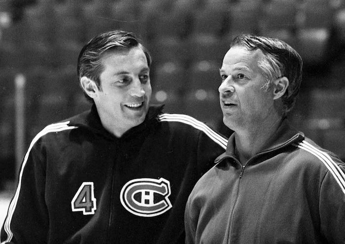 Au fil des ans, Gordie Howe est devenu un ami de Jean Béliveau.