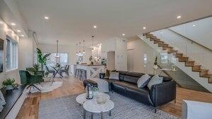 Une «farm-house» moderne à vendre pour plus de 1M$
