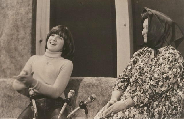 René Simard et Lise Payette.