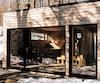 Le Joki, un nouveau bâtiment abritant un sauna chauffé au bois.