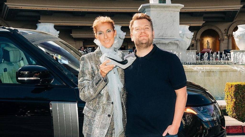 Céline partage une photo hilarante avant la sortie de son Carpool Karaoke avec James Corden