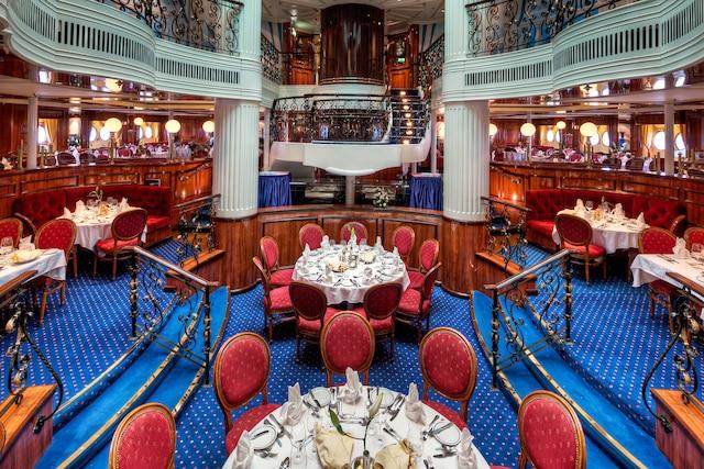 Le restaurant du Royal Clipper.
