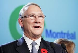 L'enquête de l'UPAC à Montréal concerne des services rendus à l'ancien parti de Gérald Tremblay par l'entreprise Groupe CJB.