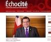 Dans la vidéo publiée sur le site Échocité et ensuite retirée du web, le maire remerciait les «bâtisseurs» de Montréal.