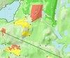 Voici à quoi ressemblent les nouvelles cartes topographiques avec couvert forestier élaborées par Stéphane Monette et TrakMaps.