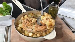 Image principale de l'article Gratin de céleri-ravi et pommes de terre