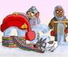 La ceinture fléchée et la tuque de Bonhomme sont en vedette sur la page d'accueil de Google en cette première journée du 65e Carnaval de Québec.