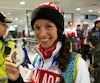 Marie-Ève Drolet avait remporté une médaille d'argent avec ses coéquipières du relais aux Jeux olympiques de Sotchi, en 2014.