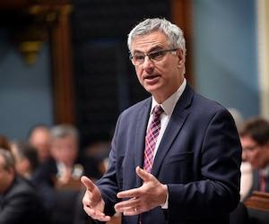Le ministre Jean-Marc Fournier