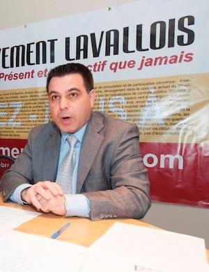 David De Cotis, président du Mouvement lavallois (ML).