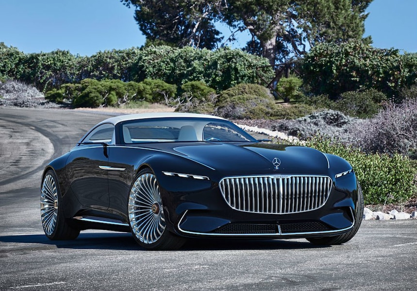 la mercedes maybach 6 cabriolet nous donne h te au futur jdm. Black Bedroom Furniture Sets. Home Design Ideas