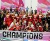 L'équipe canadienne féminine des moins de 16 ans a remporté une victoire historique au Mexique.