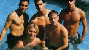 20 photos cultes des Backstreet boys