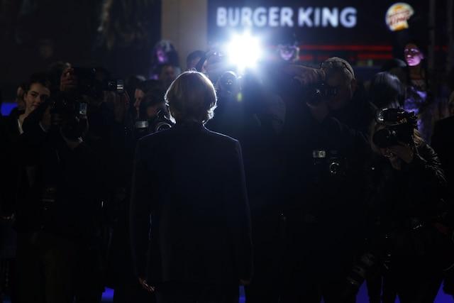 Owen Wilson lors de la première Européenne du film La Nuit au musée : Le Secret des Pharaons à Londres.