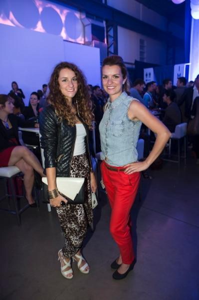 Isabelle et Delphine Beausoleil ont assisté hier soir à l'évènement de clôture de la SMM à l'Arsenal.