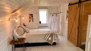Une petite maison de style «Farmhouse» à louer