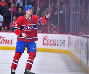 L'attaquant du Canadien Ryan Poehling.