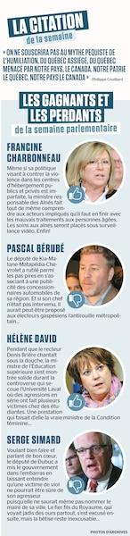 Jrnal De Quebec - Magazine cover