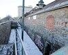 Les premiers travaux de restauration du bâtiment Nouvelles-Casernes, construit au tournant de 1750, serviront à en stabiliser la structure et à en stopper la détérioration.