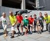 Le Marathon SSQ Lévis-Québec qui a lieu dimanche prendra des allures de véritable party familial pour les huit frères Rancourt.