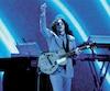 Jack White a offert 90 minutes de rock intense à ses fans de Québec au Centre Vidéotron. Sur cette image, on le voit lors d'un concert récent à Las Vegas puisque les photographes n'étaient pas admis hier.