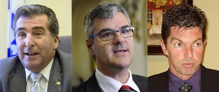 Le dossier du Centre des services partagés du Québec exaspère le libéral André Drolet, le caquiste Éric Caire et le péquiste Guy Leclair.