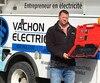 Olivier Vachon, président de Vachon électrique, s'est fait voler près de 40 000 $ de matériel.