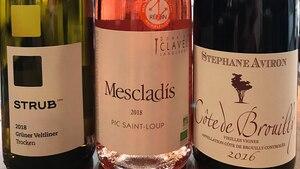 De parfaits vins d'été!