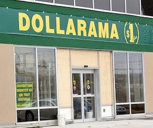 Dollarama a connu un dernier trimestre du tonnerre, alors que son bénéfice net a fait un bond de 24%, à 131,8millions$.