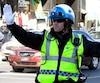 Police de Montréal en moyens de pression