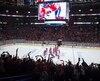 Le toit du Centre Bell s'est soulevé après la victoire en prolongation du Canadien, vendredi.
