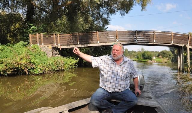 Hervé Leleu est très attaché à la préservation du marais.