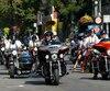 motocyclistes
