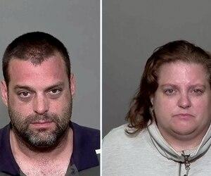 Maxim Grondin et sa conjointe Caroline Curadeau sont accusés d'agressions sexuelles sur des garçons qu'ils auraient attirés dans leur résidence grâce à leur chien et avec des cadeaux.
