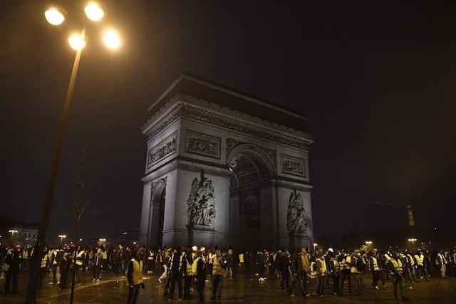 Selon les autorités, environ 75 000 manifestants ont été recensés en France, moins que lors des deux précédentes journées de mobilisation.