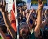 83 personnes arrêtées lors d'une manifestation contre le Dakota Access pipeline