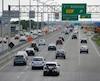 L'autoroute Félix-Leclerc est de loin l'artère où il y a le plus d'accidents à Québec.