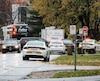 Le meurtre de Gaétan Sévigny, tué par balle à l'extérieur de sa résidence hier matin, a donné lieu à un important déploiement policier à Terrebonne.
