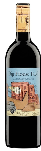 Big House Red  Californie États-Unis, 13,4% 109 calories 9,6g de sucre résiduel par litre