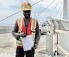 Le charpentier-menuisier Emmanuel Lacoste travaille depuis trois ans sur le chantier Turcot. Les vacances de la construction sont cruciales pour éviter le surmenage, dit-il.