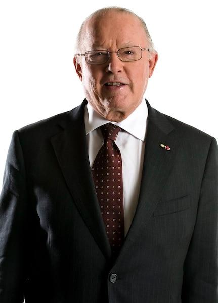 Bernard Landry, le 11 septembre 2008.
