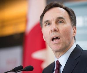 Le ministre des Finances du Canada, Bill Morneau