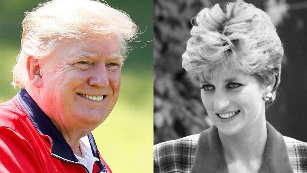 Des commentaires vulgaires à l'égard de Lady Di reviennent hanter Donald Trump